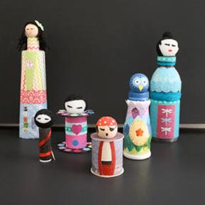 Kokeshi Figure Project