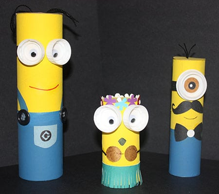 A Minion Reasons to Recycle