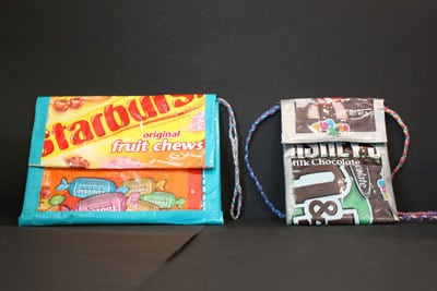 Recycled Snack Clutch/Wallet