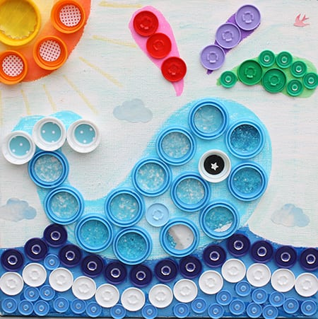 Bottlecap Art