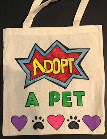 Animal Tote Donation
