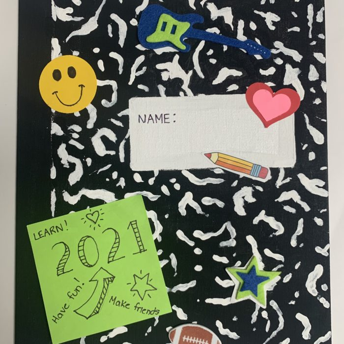 Back to School Canvas