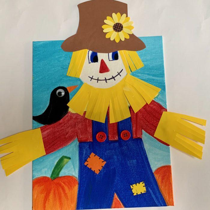 Scarecrow Canvas